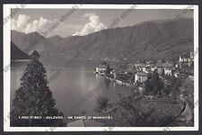 BRESCIA SULZANO 06 LAGO d'ISEO Cartolina REAL PHOTO