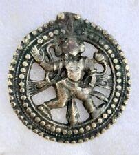 Antique Rare Brass Primitive Tribal Hindu God Hanuman Figure Neck Wear Pendant