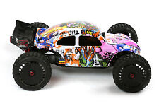 Custom Buggy Body Graffiti Pig for ARRMA 1/8 TALION 6S BLX Truck Car Cover Shell