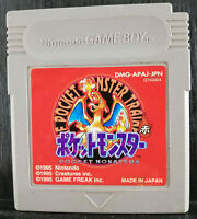 Pokémon Red - Game Boy - 1999 - DMG-APAJ-JPN - Japan Import