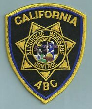 CALIFORNIA STATE ALCOHOLIC BEVERAGE CONTROL POLICE PATCH