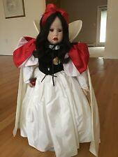 Hildegard Gunzel Snow White Doll Ltd Edition #15 Of 25 Disney World Exclusive