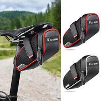 WEST BIKING Bicycle Saddle Bag MTB Road Bike Waterproof Tail Rear Pouch Bag