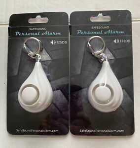 Safe sound Personal Emergency Alarms Keychain 125DB (LOT OF 2) New In Packaging