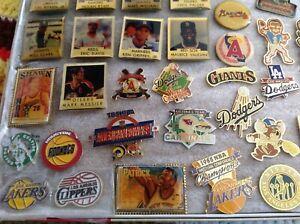 vintage classic nba basketball Houston Rockets logo lapel pin badge