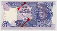 ERROR Shifted Miscut BA Replacement RM1 Jaffar Hussein UNC Malaysia