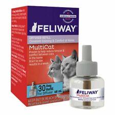 FELIWAY MultiCat Diffuser Refill 48 ml Constant Harmony & Calming Between Cats