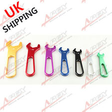 3AN TO 16AN BILLET ALUMINUM ALLOY AN WRENCH SET SINGLE ENDED SPANNER COLORFUL UK