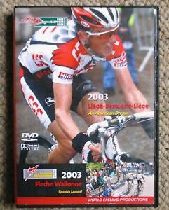 2003 Liege-Bastogne-Liege Fleche-Wallone World Cycling Productions 2 DVD clean