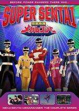 DENJI SENTAI MEGARANGER COMPLETE SERIES New DVD aka Super Sentai Power Rangers