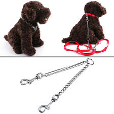 Coupler Double Dog Twin Lead 2 Way For Two Pet Dogs Walking Leash Safety