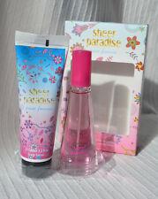 Ladies Gift Box Set Eau De Perfume & Body Lotion pour femme perfum spray creame