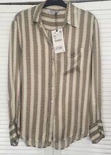 Zara Chain Print Blouse Size XS BNWT