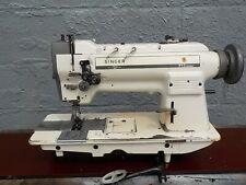 Industrial Sewing Machine Singer 212-539 walking foot, two needle -Leather