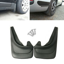 2x Black Auto Accessories Car Mud Flaps Splash Guards Mudgurads Mudflaps Fender