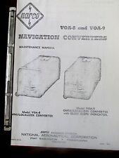 NARCO AVIONICS VOA-8 & VOA-9 NAVIGATION CONVERTERS MAINTENANCE MANUAL Localizer