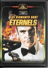 DVD ZONE 2--JAMES BOND--LES DIAMANTS SONT ETERNELS--CONNERY/GRAY/ST.JOHN