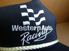 Vintage WESTERN AUTO RACING Snapback HAT Cap NEVER WORN