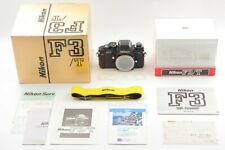 【UNUSED in Box S/N 851XXXX】 Nikon F3/T 35mm SLR Black w/ Strap from JAPAN #1567