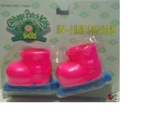 Cabbage Patch Kids Shoes CPK Dolls In-Line Skates Pink