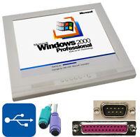 """Allonone Computer 1 Ghz CPU 17 """" 43cm TFT 12v 40gb Disco Rigido Windows 2000 #M4"""