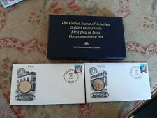 U.S. Golden dollar coin First Day Issue Commemorative Set and Box 2000