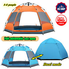 Outdoor 5-8 Person Waterproof Instant Tents Camping Automatic Pop Up Tent Hot