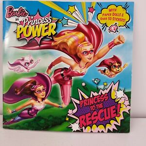 Princess to the Rescue Book Barbie in Princess Power Pictureback