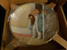 Bessie Pease Gutmann Collectors Plate Good Morning Nib