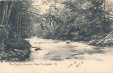 SPRINGVALE ME – Mousam River The Rapids - 1908