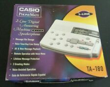 CASIO PhoneMate TA-180 Digital Answering Machine Phone Mate 1997 Unused in Box