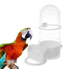 Bird Feeder Automatic Food Water Feeding Parrot Hamster Pet Clip Cage Dispenser