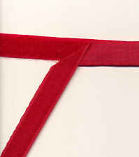 CHRISTMAS RED HOOK & LOOP TAPE 16mm x 0.5m