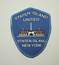 2 New York Ny Soccer Assoc Team Club Staten Island United Patch New Nos 1990s