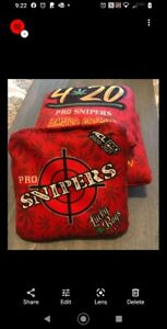 Lucky Bags Cornhole Pro Snipers 420 Bags, ACL Pro Stamped 2021 Limited Edition