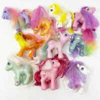 My Little Pony G3 Lot of 10 Ponies Hasbro MLP Play Condition