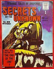 SECRETS OF THE UNKNOWN 1 Alan Class 1962 Steve Dikto & Jack Kirby art