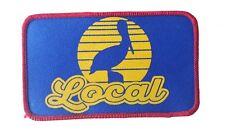 Local Pelican Sunset Embroidered Patch 3x5  Iron On Beach