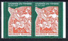 STAMP / TIMBRE FRANCE NEUF N° 3136A ** EN PAIRE JOURNEE DU TIMBRE / DE CARNET