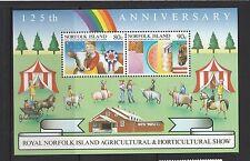 Norfolk Island 1985 Agricultural & Horicultural show MS UM SG MS373