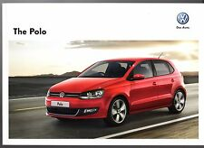 Volkswagen Polo 2011-12 UK Market Sales Brochure S Match SEL GTi BlueMotion