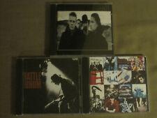 U2 Lot Of 3 Cds: Joshua Tree, Rattle And Hum, Achtung Baby Pop Alt Rock Bono Vg+