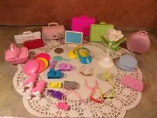 Mattel Barbie Lot Of Accessories Luggage Camera Vissors Glasses And More B3713