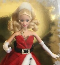 2007 Holiday Barbie doll NRFB Christmas Happy Holidays