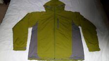 Columbia Ski / Winter Sport Jacket In Green / Grey-Removable Hood.Men's size L