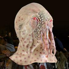 Movie Horrible Ood Latex Octopus Mask Prop Halloween Carnival Cosplay Doctor
