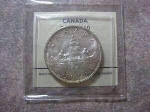 Canada - Elisabeth II - Dollar 1960 CH. UNC - Silver - cert: 3584