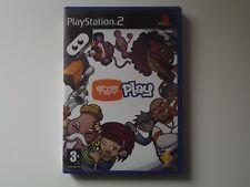 eye toy play jeu playstation 2 complet avec le livret en français en bon état .