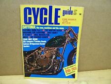 Vintage Cycle Guide Motorcycle Magazine June 1967 Yamaha Suzuki Bridgestone BSA