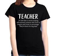 Teacher Definition Women's T-Shirt Teacher Appreciation School Gift Shirts